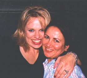 Beccy Cole and Rosemary Rae